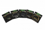 Korda Kamo Leaders mit Hybrid Lead Clip Silt Brown 40lbs