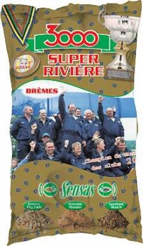 Sensas 3000 Super River Bremes  1000g