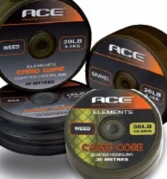 ACE Camou Core 20lbs 20m Silt