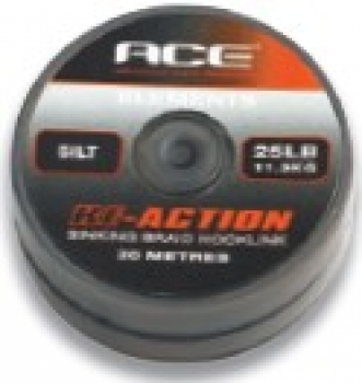 ACE RE-ACTION VORFACHMATERIAL 20lbs 20m Silt
