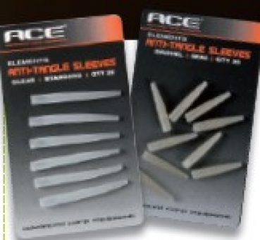 ACE ANTI TANGLE SLEEVES Silt Transparent