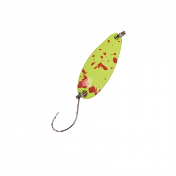 Paladin Trout Spoon - 2,0 g Gelb-Rot/Orange